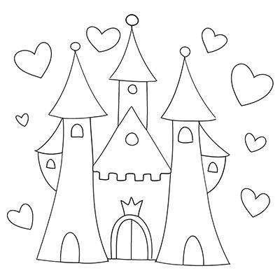 Schloss Malvorlagen Kostenlos Coloring And Malvorlagan