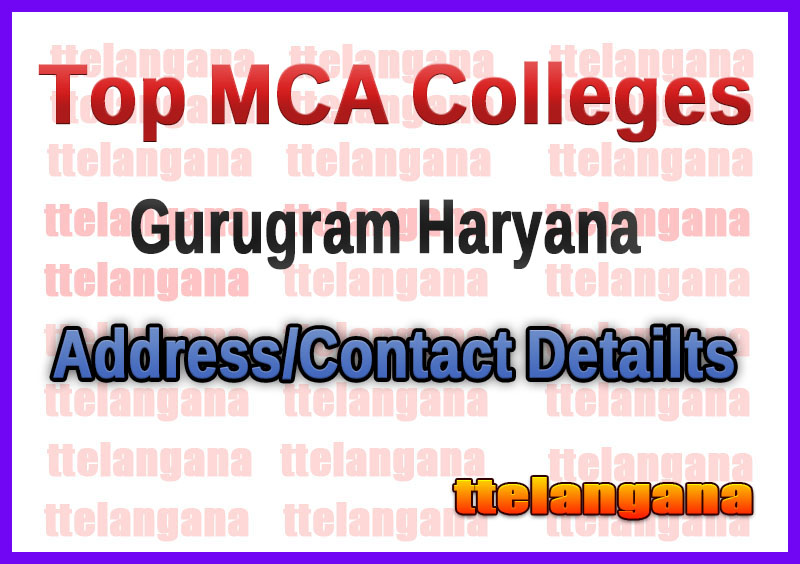Top MCA Colleges in Gurugram Haryana