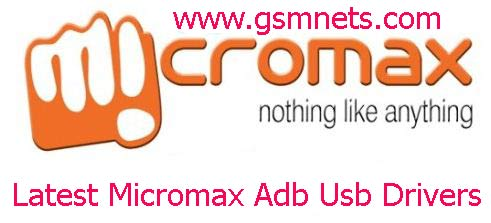 Latest Micromax Adb Usb Drivers All Download