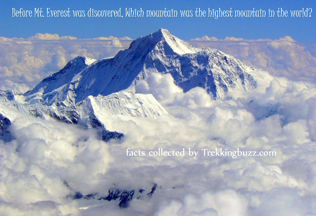 Mount Everest Highest Mountain in the world