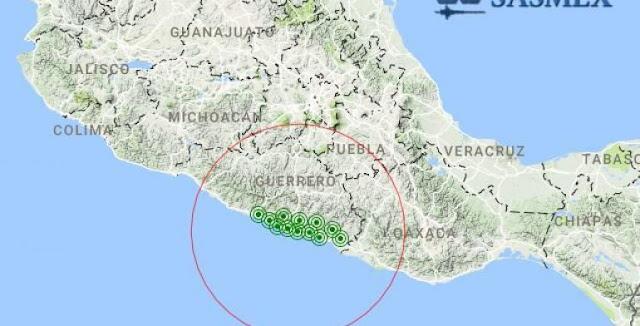 No se reportan daños por el sismo de 4.8 grados en San Marcos, Guerrero
