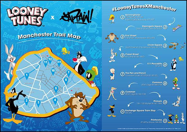 Looney Tunes Map