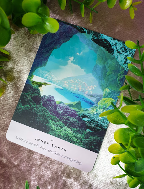 The Starseed Oracle - Inner Earth card