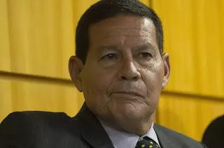 Vice -presidente  Hamilton Mourão é diagnosticado com covid-19