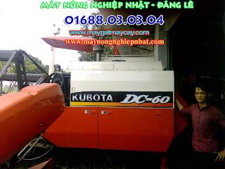 bán máy gặt đập liên hợp kubota dc60 thái lan cũ đi Quảng Nam