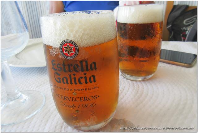 Desde 1906, antes que el faro ya estaba Estrella Galicia