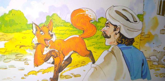 लोमड़ी और लकड़हारा (Short Story For Kids In Hindi)
