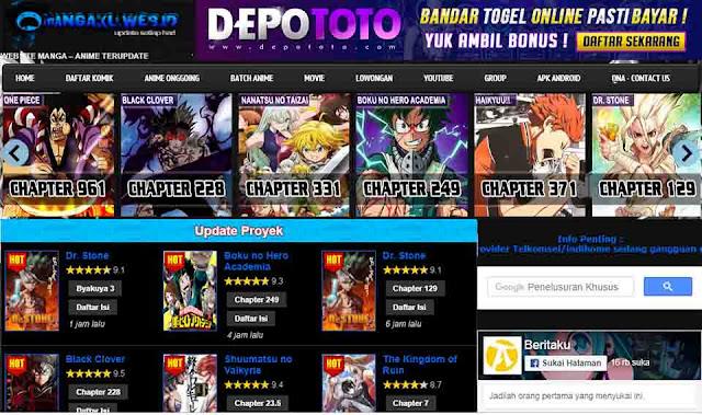 Situs baca manga terbaik Bahasa Indonesia