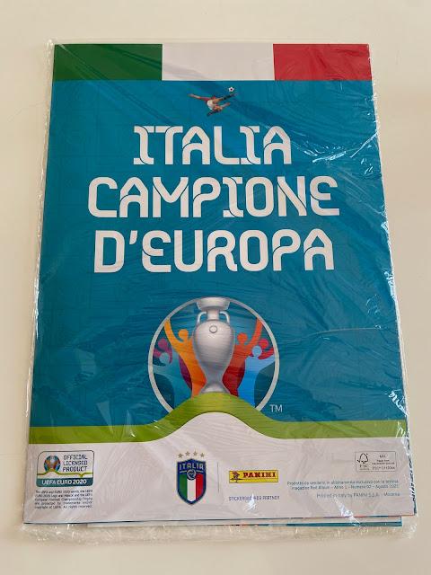 Euro 2020 Panini Winner Poster