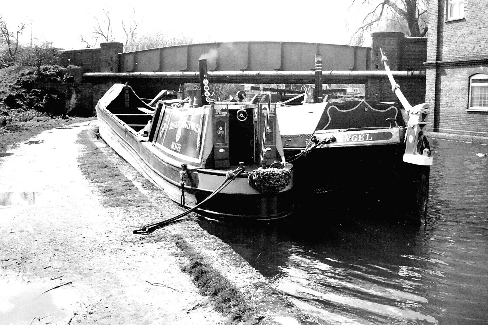 Narrow Boats SICKLE And FLAMINGO: Background To Why There