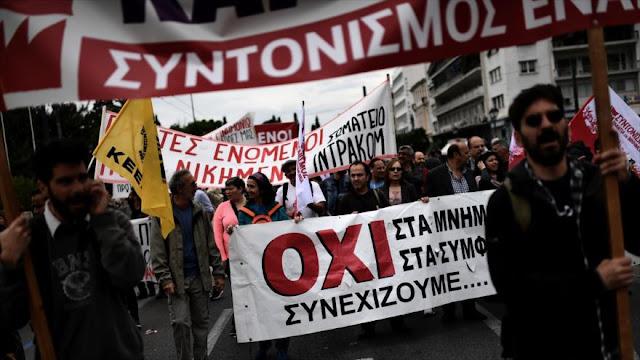 Grecia vive otra huelga general contra los recortes