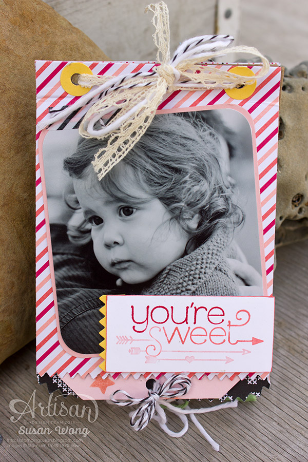 You're Sweet Mini Treat Bag Album ~ Susan Wong