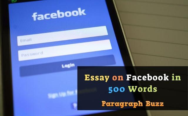 Essay on Facebook in 500 Words