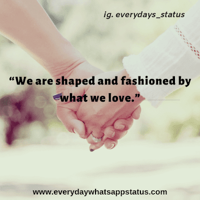 Love Quote in English | Everyday Whatsapp Status images