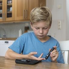 معدل السكر التراكمي الطبيعي للاطفال