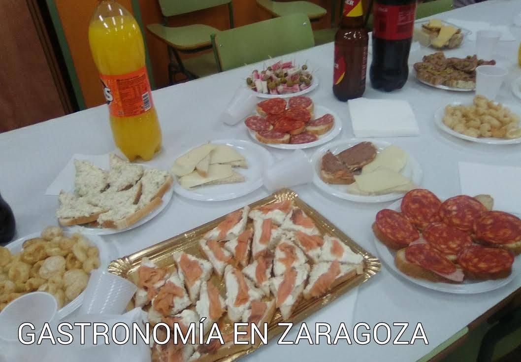 Gastronom a en zaragoza fiesta fin de curso 2016 - Cursos de cocina zaragoza ...