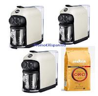 Concorso Lavazza Espresso : ogni giorno in palio 3 macchine A Modo Mio Deséa