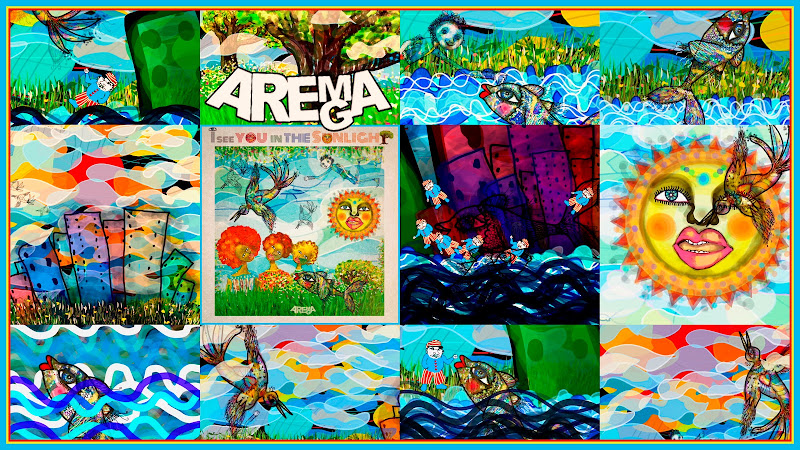 Arema Arega - ¨I see You in the Sunlight¨ - Videoclip / Dibujo Animado - Directora: Arema Arega. Portal Del Vídeo Clip Cubano. Música cubana. CUBA.