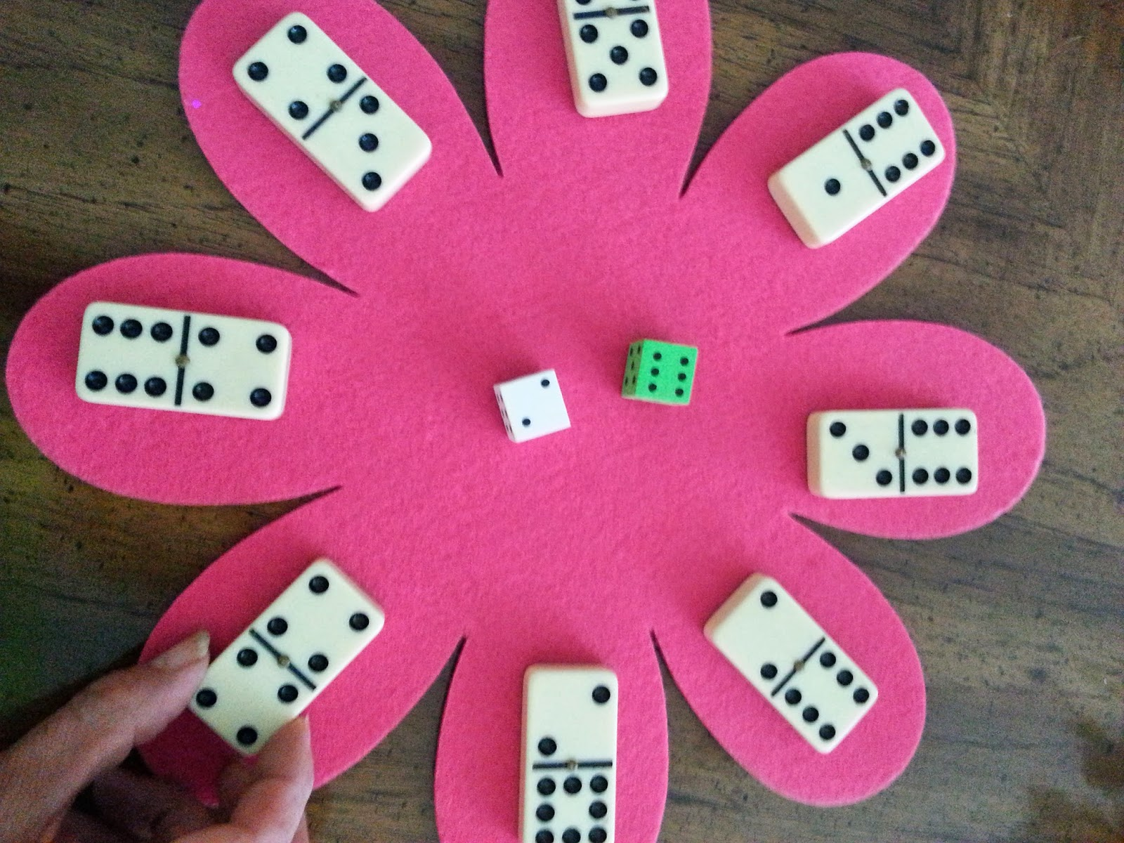 Primary Inspiration Spring Math Games With Dice And Dominos