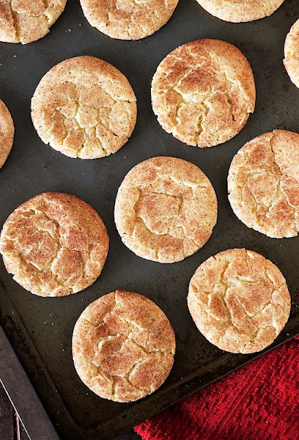 Pan of Cake Mix Snickerdoodles Image