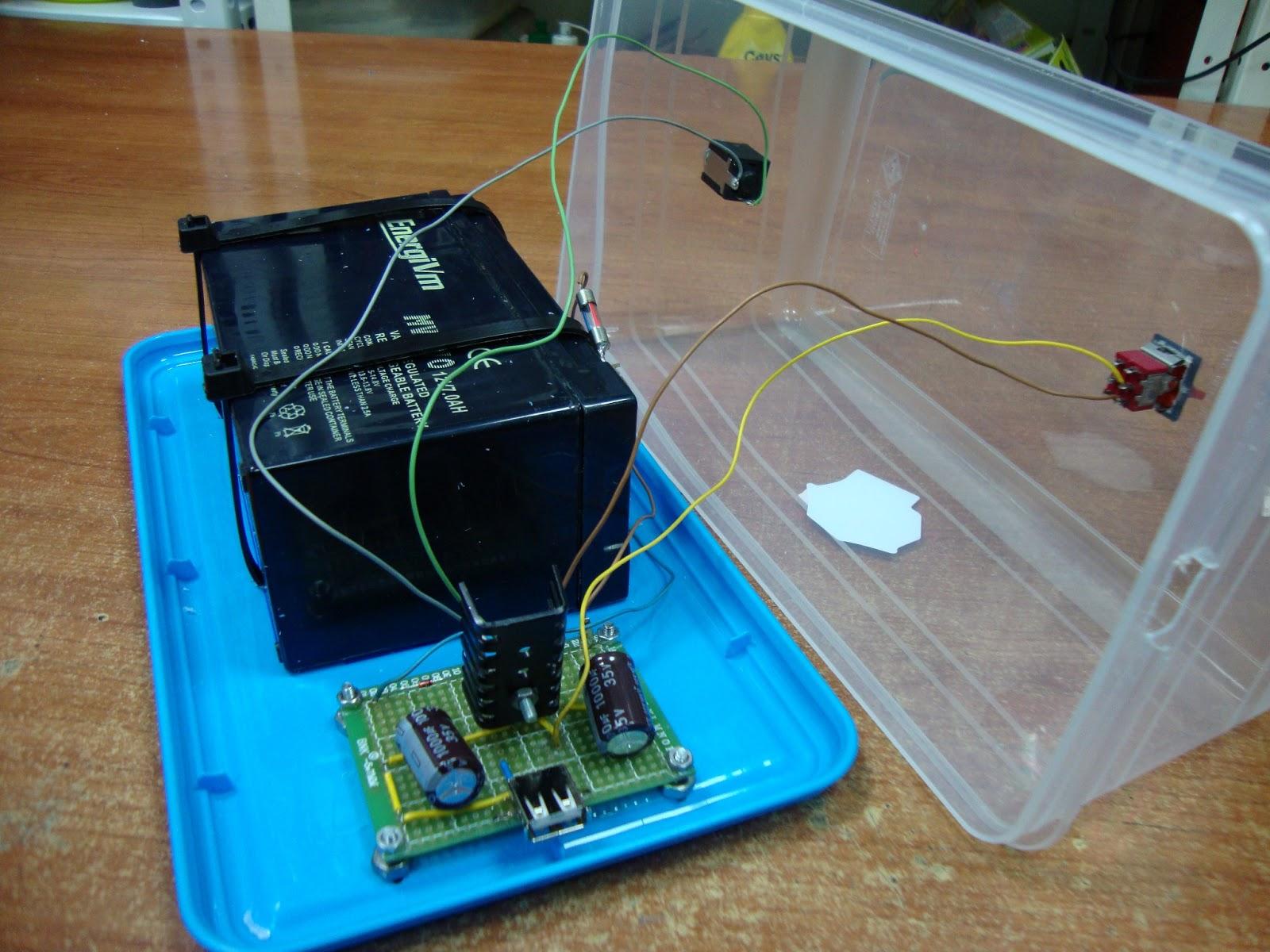 Ciencia inventos y experimentos en casa cargador de - Bateria para casa ...