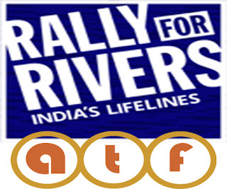 rally for rivers poster, all telugu fun