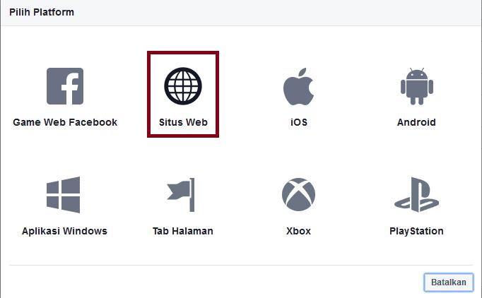 Cara Mendapatkan Kode Facebook App Id