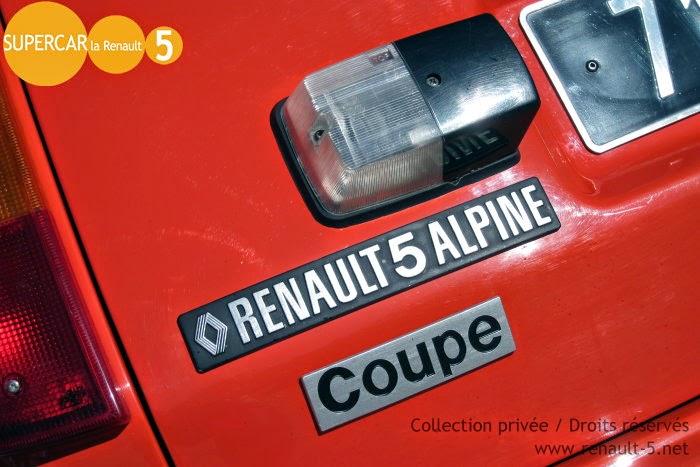 Blog :: TOUT sur la Renault 5: Logo Renault 5 Alpine Coupe