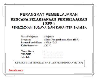 Download RPP KTSP Sejarah Kelas XI IPA SMA
