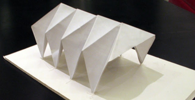 Architecture Rigid Folded Structures