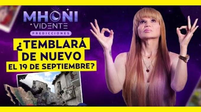 Mhoni Vidente Prevé Otro Sismo Para El 19 De Septiembre