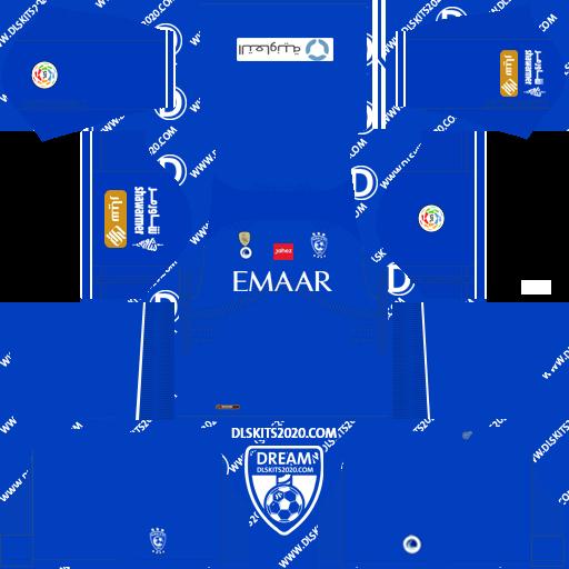 FC AL Hilal Kits 2021-2022 Mouj - Kit Dream League Soccer 2019 (Home)