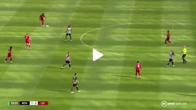 VIDEO:  Newcastle United 1:3 Liverpool / Premier league