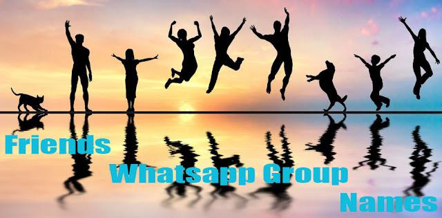 Friends WhatsApp group name