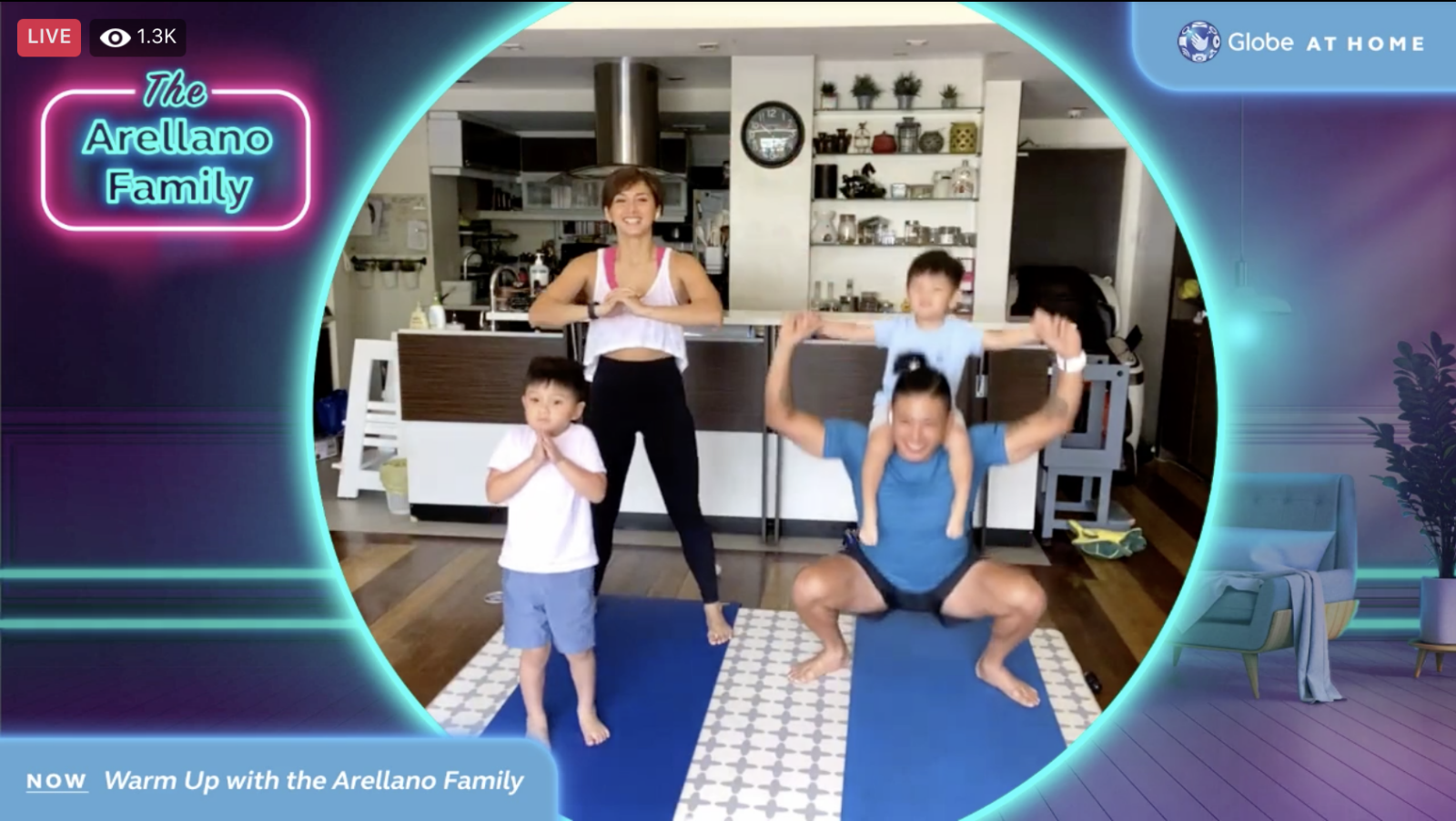 Globe At Home Enables Everyone to Kick Start Their Wellness Journey With Virtual Fitfest