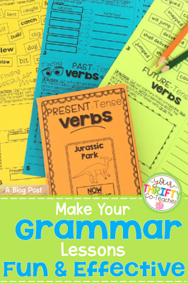 Fun grammar activities that will engage your 5th grade students.