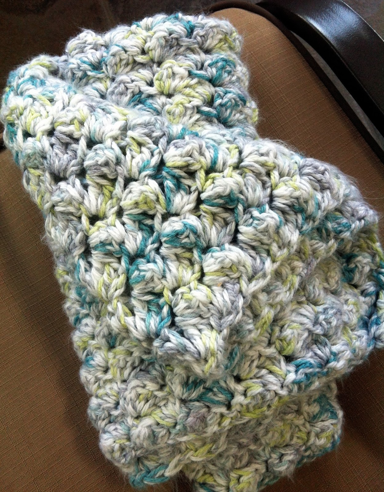 Inspire Me Grey Two Easy Crochet Baby Blankets