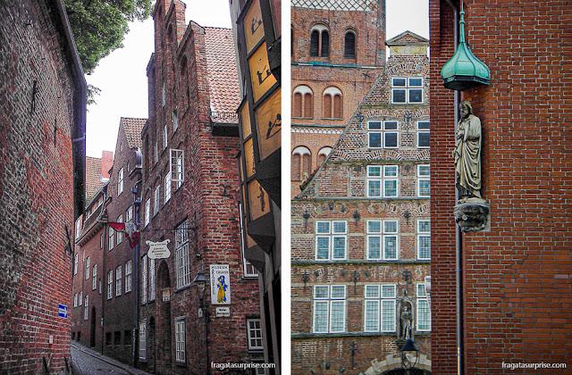 Arquitetura típica de Lübeck, Alemanha