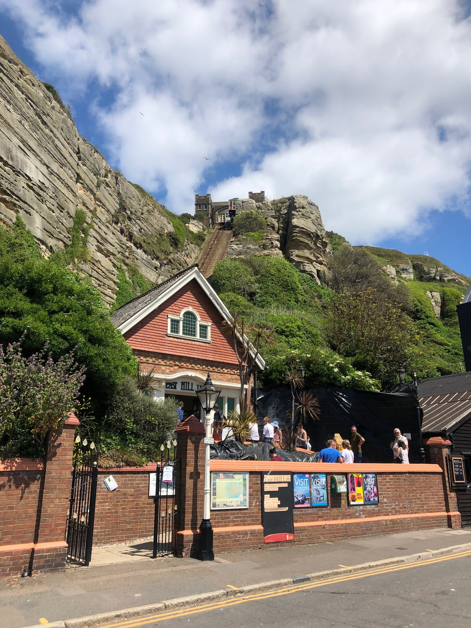 the hill lift in Hastings