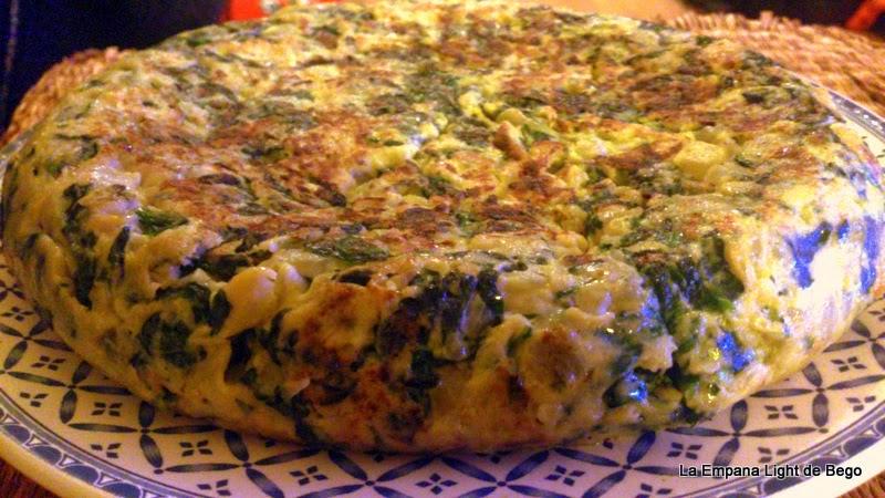 Tortilla Ligera al Microondas