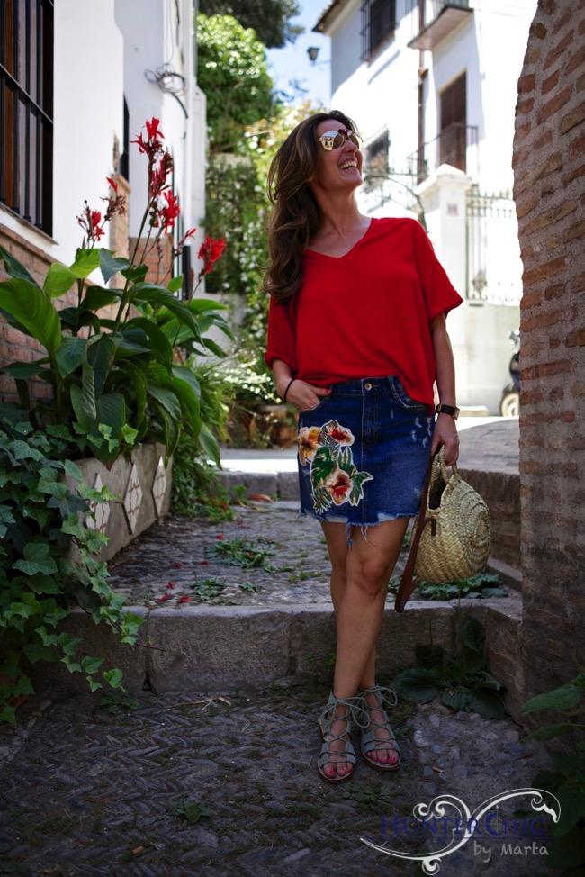 HunterChic by Marta-marta halcon de villavicencio-fashión blog-bloguera española- como llevar una falda vaquera