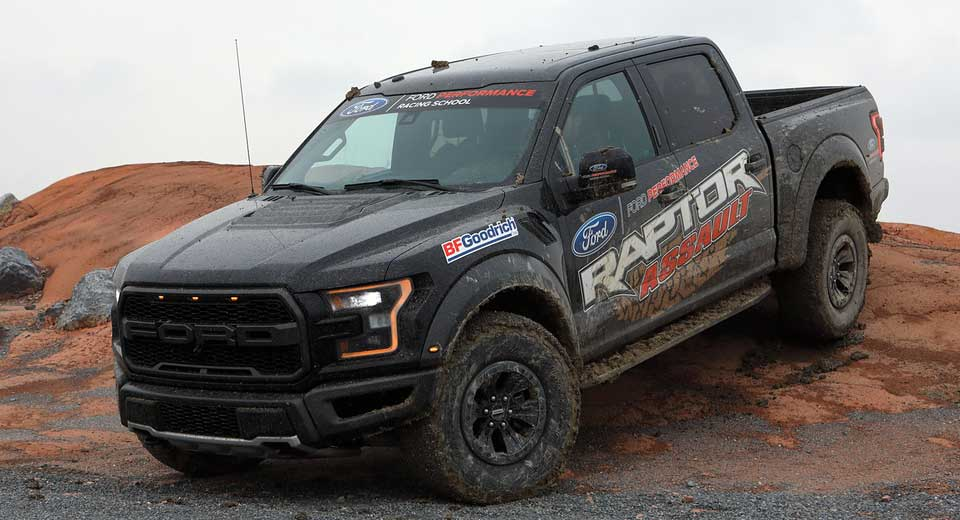 Ford F 150 Raptor Comes With Free Off Road Driving Course