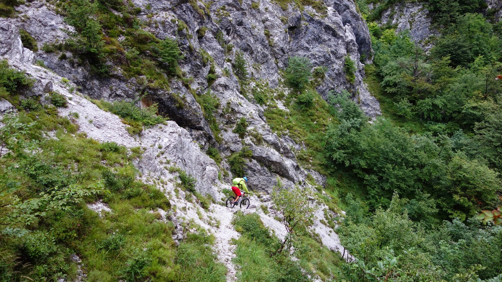 bikebergsteigen Mountainbike Tour: Val Resia Bovec (Slowenien)