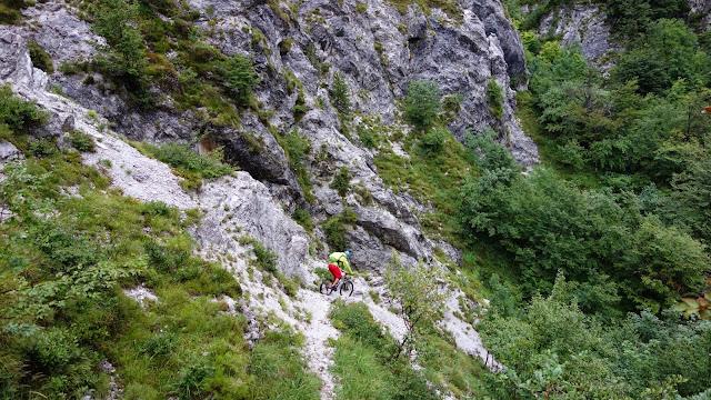 Singletrail val resia mountainbike bovec mtb