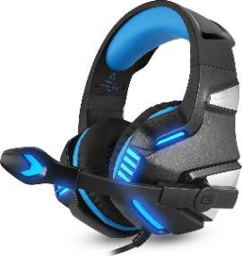 Gaming headset over ear Hunterspider
