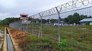 Pemasangan Pagar BRC Bendungan Jawa Barat