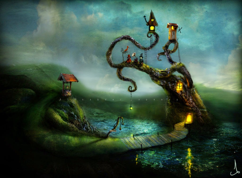 25-Alexander-Jansson-Fairy-tale-Worlds-in-Surreal-Paintings-www-designstack-co