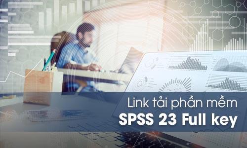 Download phần mềm SPSS 23 Full bản quyền