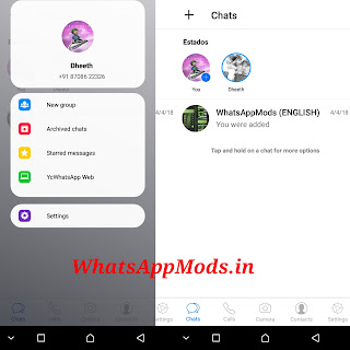 YcWhatsApp v3.0 WhatsAppMods.in