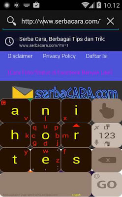 Aplikasi Keyboard MessagEase